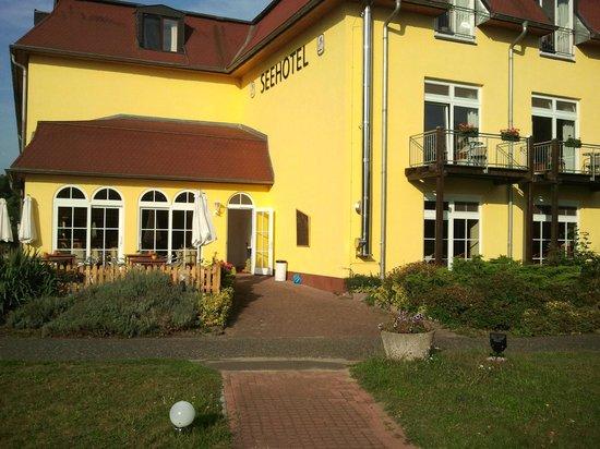 Seehotel Brandenburg an der Havel: Ansicht Hotelrückseite