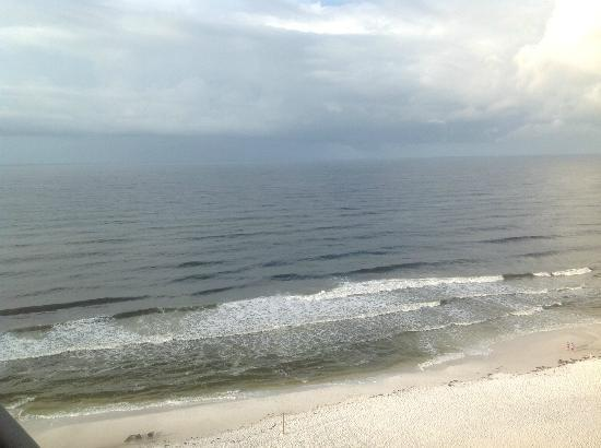 Hilton Sandestin Beach, Golf Resort & Spa: Rough seas after Isaac