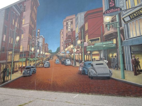 ‪‪Portsmouth‬, ‪Ohio‬: Floodwall Mural, Portsmouth, Ohio