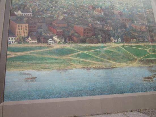Portsmouth Floodwall Mural: Floodwall Mural, Portsmouth, Ohio Part 51