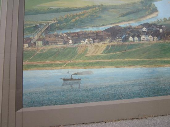 Portsmouth Floodwall Mural: Floodwall Mural, Portsmouth, Ohio Part 67