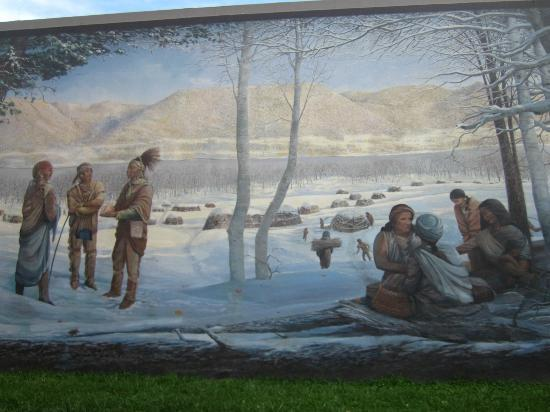 Attractive Portsmouth Floodwall Mural: Floodwall Mural, Portsmouth, Ohio Part 9