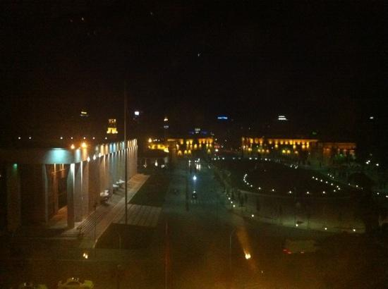 Tirana International Hotel & Conference Centre: view from my room, 5th floor