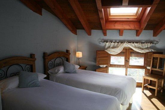Casa Rural Bolilla: Habitación azul