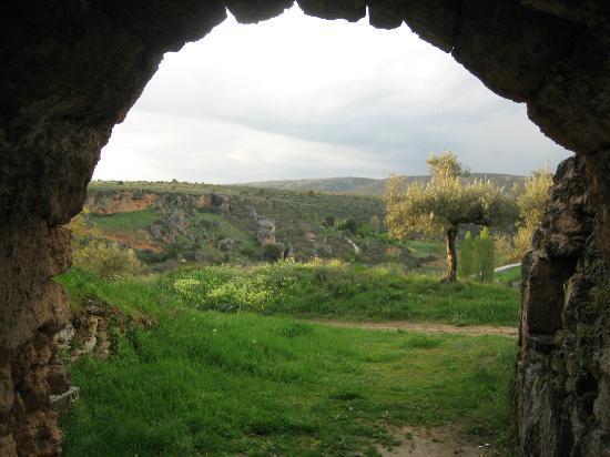 Casa Rural Bolilla: vista desde las cuevas