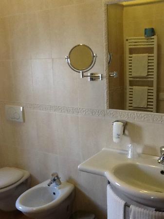 Hotel Sovrana: bagno