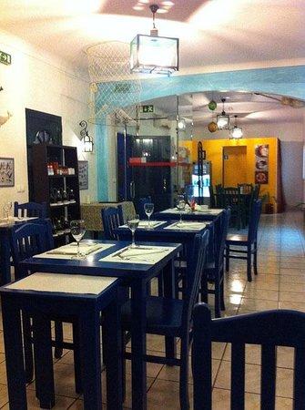 Restaurante O Pescador: Interior