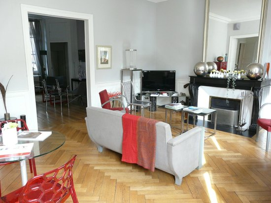 Maison de Myon : Sitting Room