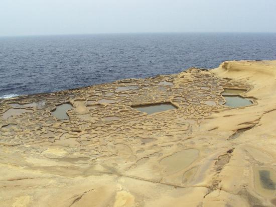 Salt Pans Gozo Picture Of Island Of Gozo Malta
