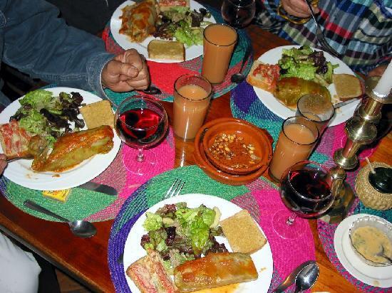 Casa Mojanda: Delicious Food