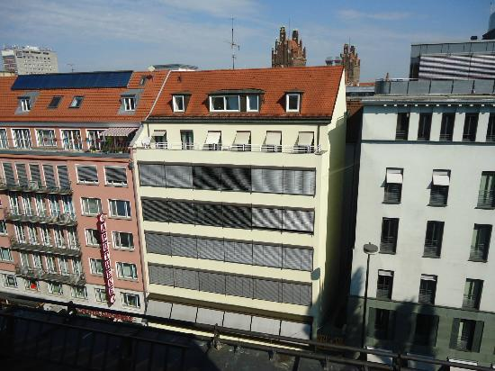 Hotel Stachus: View from our room