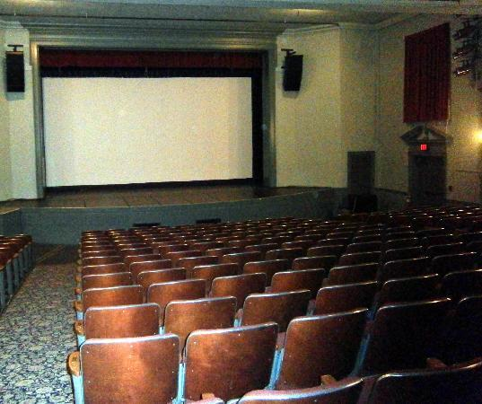 Woodstock Town Hall Theater : Movies are shown every weekend on the biggest screen in the Upper Valley!