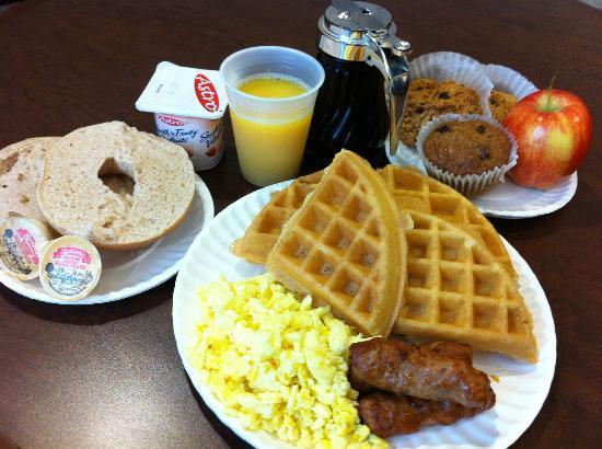 BEST WESTERN Royal Oak Inn: Complimentary full hot breakfast