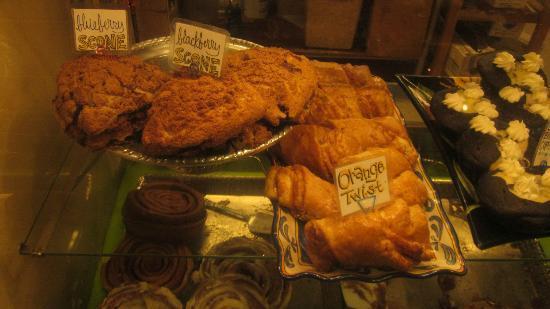Stehekin Pastry Company: Goodies at the bakery