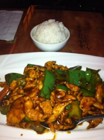 Zen Asian Grill and Sushi: Kung Pao chicken