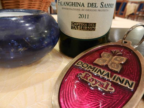 Domina Home Royal: buona la falanghina!