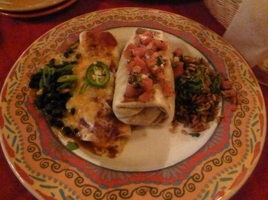 Mother's Cantina: Mother's Burrito Combo