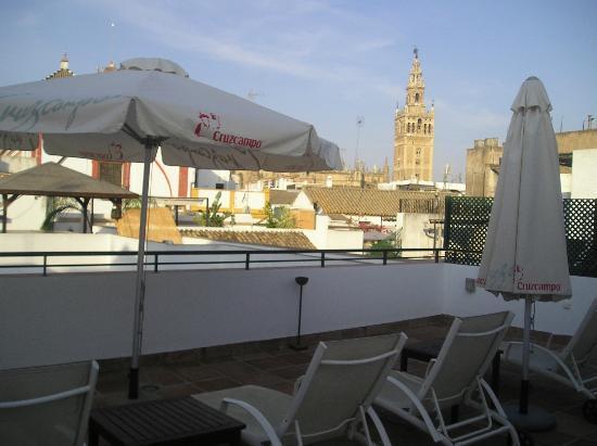 Apartamentos Murillo: la terrazza panoramica