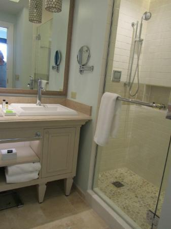 Eilan Hotel & Spa, Autograph Collection: small but pretty bathroom