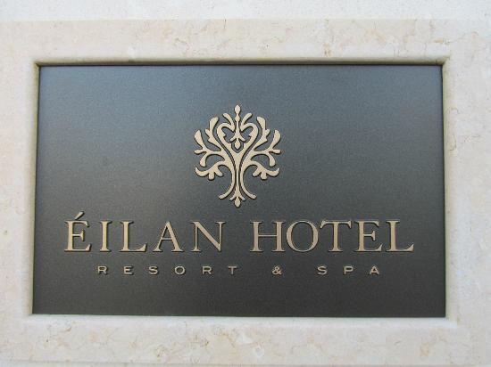 Eilan Hotel & Spa, Autograph Collection: Sign that greets you