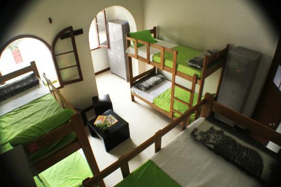 House Inn Backpacker: dormitorio compartido de mujeres, excelente vista, aire fresco, limpieza y comodida !!
