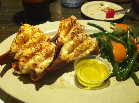 great lobster tails!! - Picture of Bob Chinn's Crab House, Wheeling - TripAdvisor