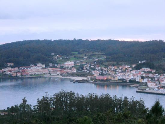 Hotel Finisterre : vista geral da costa