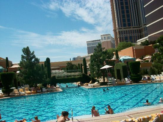 The pool picture of wynn las vegas las vegas tripadvisor for Nspi pool show vegas