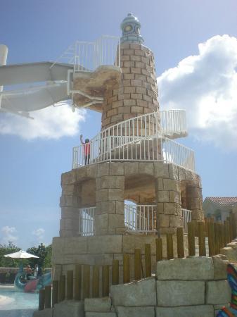 Weare Cadaques Bayahibe Hotel: La torre del parque acuático