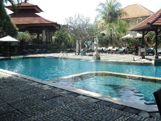Adi Dharma Hotel: pool view from our room