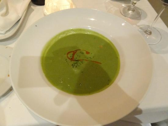 Tosca Restaurant: Pea Soup