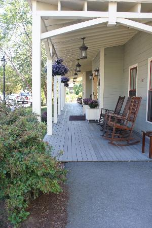 Bar Harbor Grand Hotel: front porch