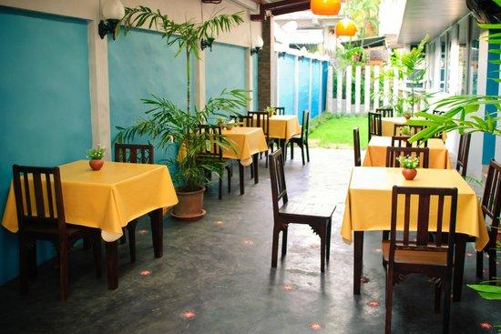 La-Mer Hostel:                   Opened Air Bar/restaurant
