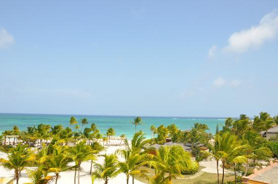 Sanctuary Cap Cana by Playa Hotels & Resorts: View from our huge terrace at the Junior Suite Ocean View room.