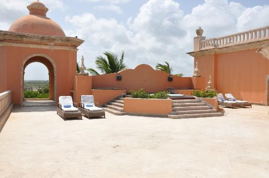 Sanctuary Cap Cana by Playa Hotels & Resorts : Terrace at the Junior Suite Ocean View