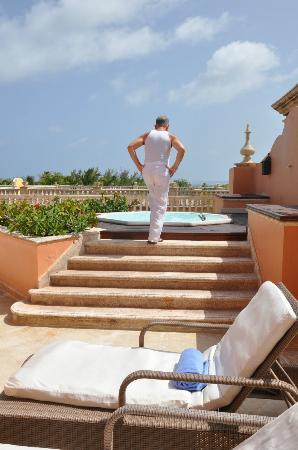 Sanctuary Cap Cana by Playa Hotels & Resorts: Terrace at the Junior Suite Ocean View