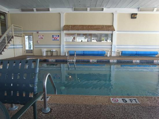 Hyannis Travel Inn: Pool area
