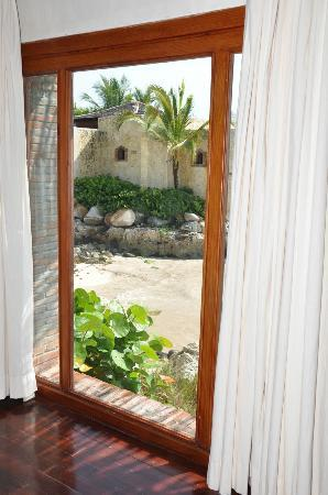 Sanctuary Cap Cana by AlSol: Bedroom window view.