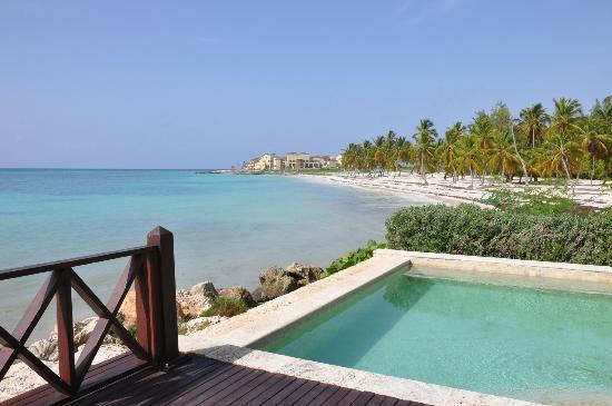 Sanctuary Cap Cana by AlSol: Our pool and a vIew from our deck in the Royal Villa.