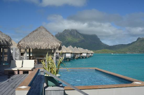 The St. Regis Bora Bora Resort: beautiful view