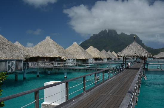 The St. Regis Bora Bora Resort: overwater rooms