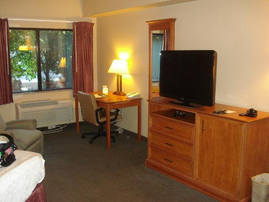 Hotel Glenwood Springs: HD TV!!