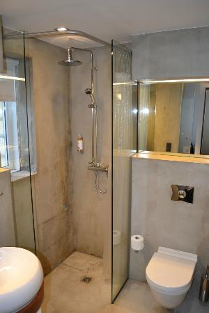 CenterHotel Thingholt: Shower.
