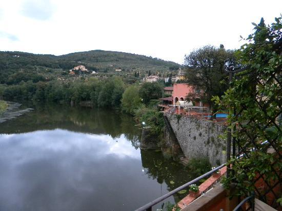 Villa La Massa: The Arno River