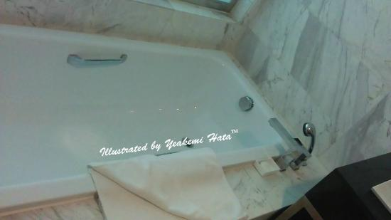 Century Kuching Hotel : both tub