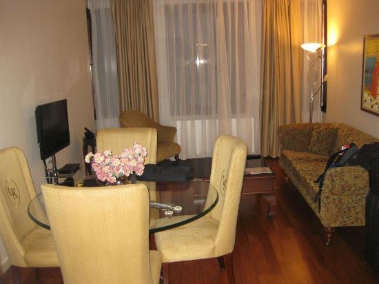 Galateia Residence: Living Room