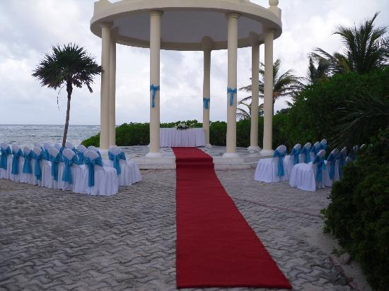 Grand Palladium Colonial Resort & Spa: The wedding spot