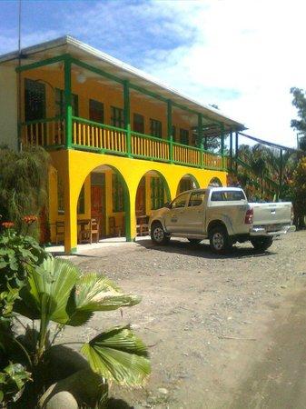 Cabinas Manzanillo: Vista ala selva