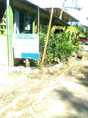 Cabinas Manzanillo: Primera entrada de Manzanillo