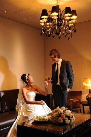 Shichahai Sandalwood Boutique Hotel: wedding dinning